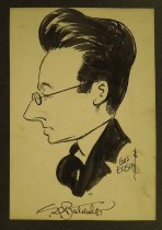 Image of Caricature of C.D. Batchelor - Edson, Gus, 1901-1966